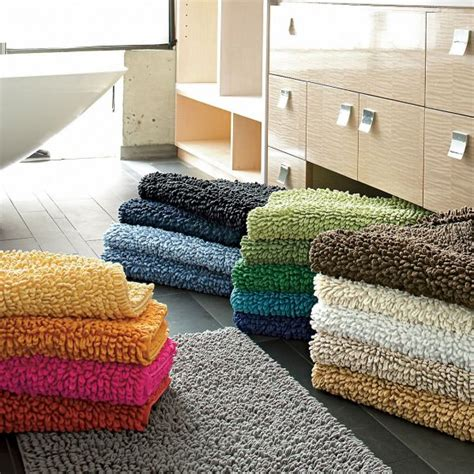 How To Make A Bathroom Rug Company Cotton Chunky Bath Rug
