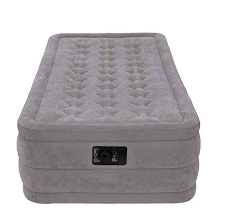 intex letto gonfiabile letto gonfiabile singolo ultra plush di intex 99x191x46 cm