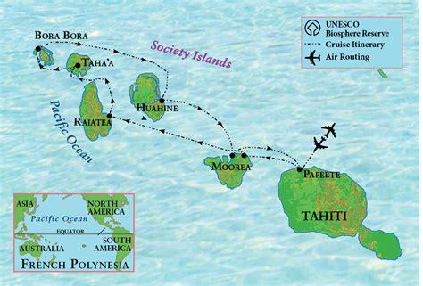 map of tahiti tahiti and polynesia sail the ohio state alumni association