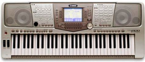 Lcd Yamaha Psr 2100 Yamaha Psr 2100 Professional Touch Sensitive Keyboard 61