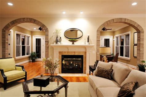 Living Room Arch by Designingluxury The Principles Of Feng Shui In