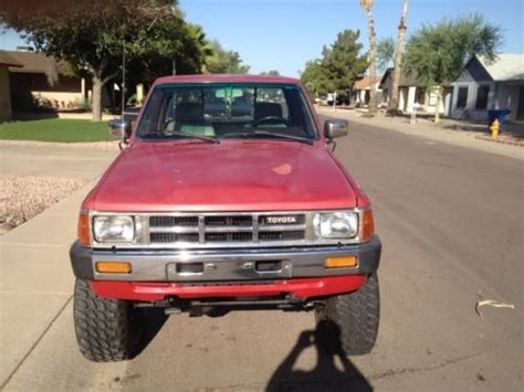 1985 Toyota Tacoma Find Used 1985 Toyota 22re Sr5 Truck 4x4 In Chandler