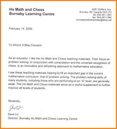 Recommendation Letter For Language Student 10 Writing Reference Letters For Students Sle Of Invoice