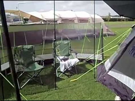 outwell vermont xlp awning outwell vermont l side awning doovi