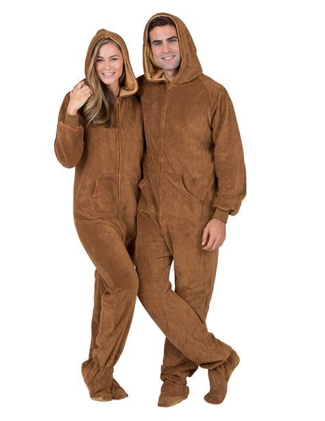 Hoodie Zipper Ninjas In Pyjamas teddy hoodie one hooded footed pajamas one hooded pjs hooded