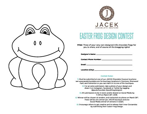 easter frog coloring page easter frog colouring contest 2018 printable page jacek