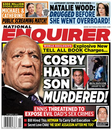 This Week In The National Enquirer Stepford by The National Enquirer Bill Cosby Had Murdered