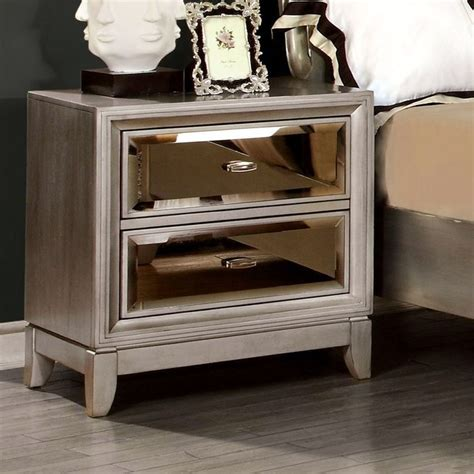 mirrored night stands bedroom 1000 ideas about mirrored nightstand on pinterest
