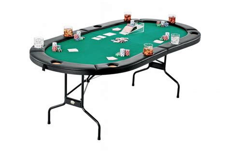 table top and chips table set up trademark traveler table top