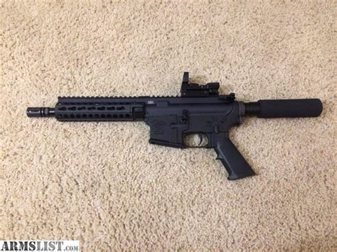 sale 8 188 inch armslist for sale 8 5 inch ar pistol in 5 56 with red dot