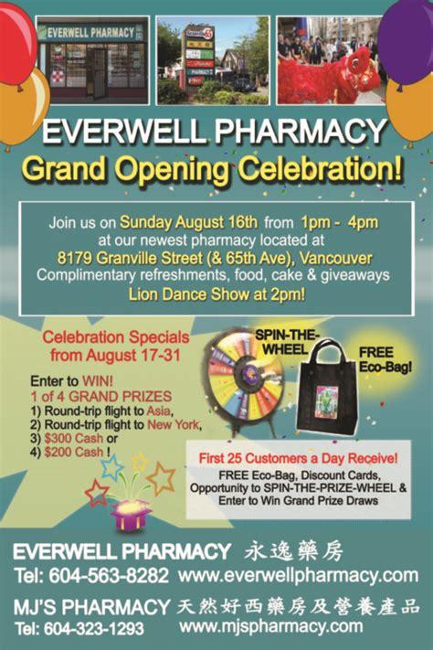 everwell grand opening everwell pharmacy
