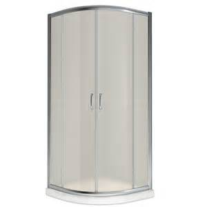 Shop dreamline prime white acrylic wall and floor round 3 piece corner