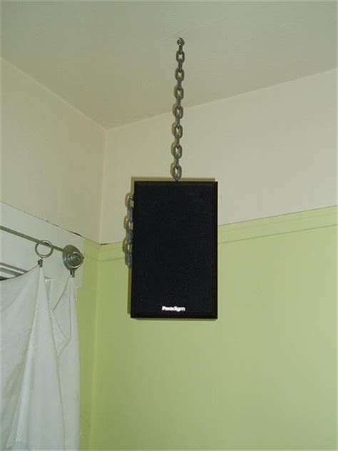 How To Hang Surround Sound Speakers From Ceiling by Speakers From The Ceiling House Tour Small Space