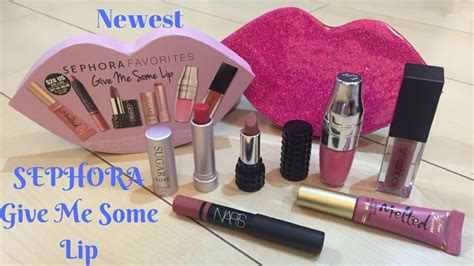 Sephora Give Me Some Lip Set 2016 sephora favorites give me some lip 2016 swatches