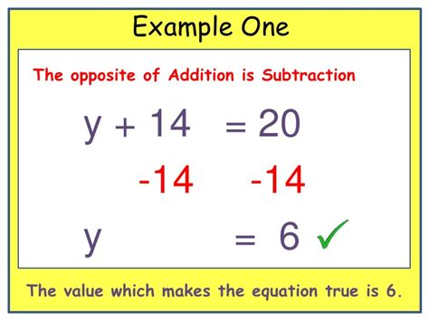 One Step Equations Addition And Subtraction Worksheet by One Step Addition Equations