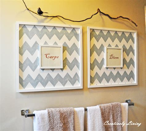 diy bathroom wall decor quot must do quot projects for 2013 2 use some junk as decor