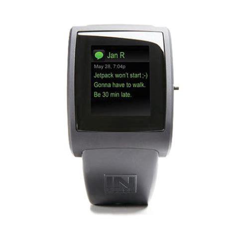Smartwatch Blackberry inpulse smartwatch for blackberry and android smartphones black