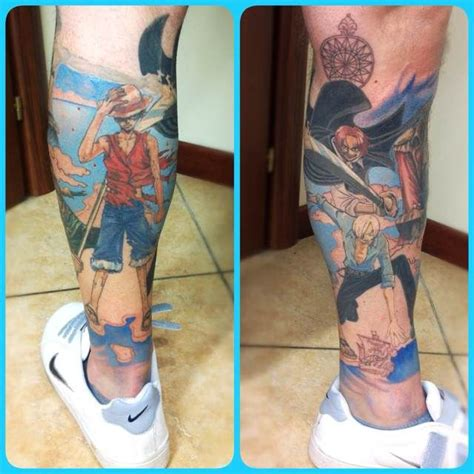 one piece tattoo tatouage manga pinterest tattoo