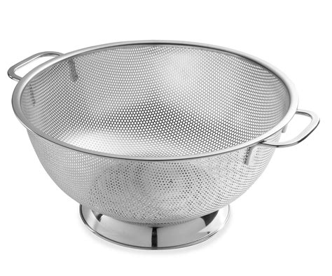 Kitchen Basket Definition Bellemain Micro Perforated Stainless Steel 5 Quart