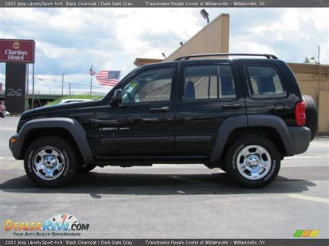 black jeep liberty 2003 2003 jeep liberty sport 4x4 black clearcoat slate