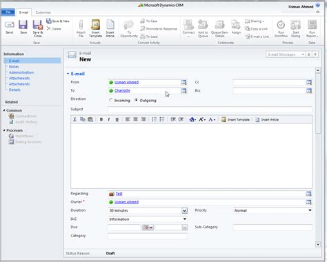 Crm Email Template Dynamics 365 Solutions Crm Email Templates