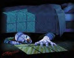 clown under bed evil clowns scary monsters and under bed on pinterest