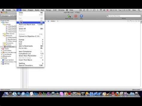 tutorial xcode youtube xcode tutorial adding html youtube