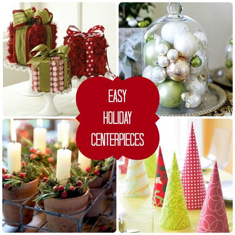 easy christmas centerpiece artofdomaining com
