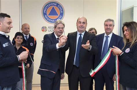 sede protezione civile roma inaugurata la nuova sala operativa della protezione civile