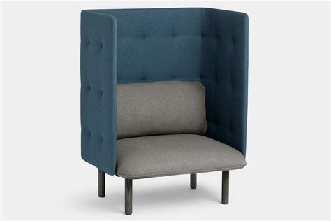 Poppin Furniture by Poppin Qt Privacy Chair Gearnova
