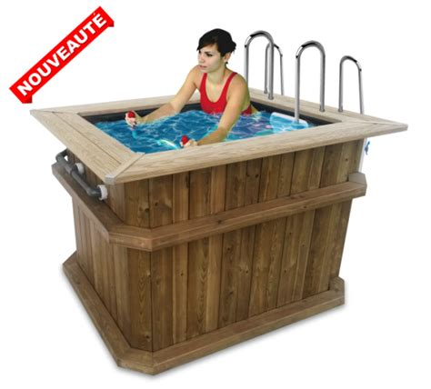Baignoire Aquabike by Wood Bath Pour Aquatraining Personnel Archim 232 De Aquafitness