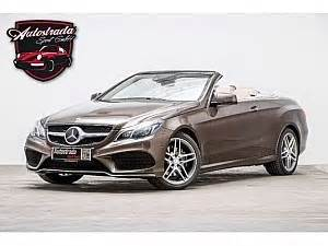 Mercedes Gas Type Mercedes Classe E Cabriolet Brown Used Search For Your