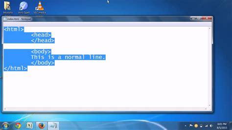 html tutorial underline text quick html tutorial html underline tag youtube