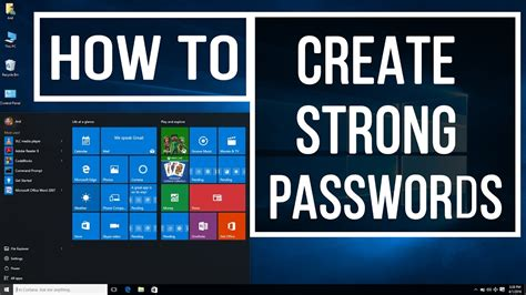 How To Create An Effective How To Create A Strong Passwords In Easy Ways