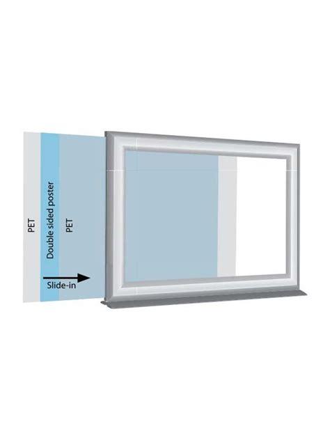 cornice a giorno 100x140 magic frame a4 cornice con chiusura magnetica