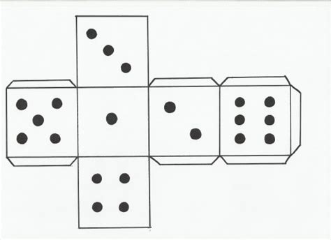 printable dice net game resources