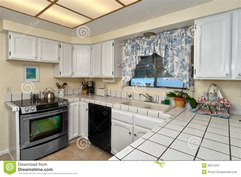 module de cuisine modules de cuisine blancs image stock image 20374291