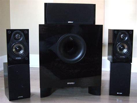 energy  classic  speaker system review audioholics