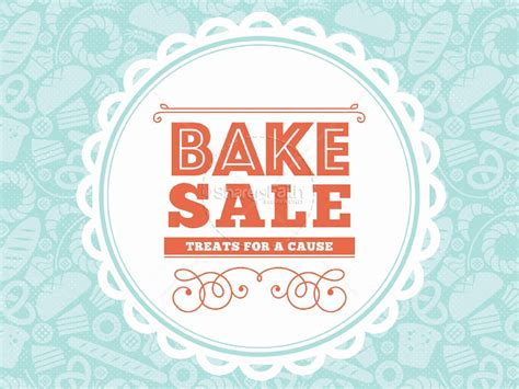 sale template bake sale church powerpoint template powerpoint sermons