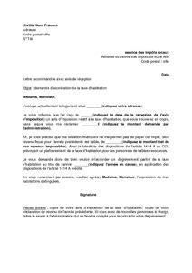 Exemple De Lettre Taxe D Habitation application letter sle modele de lettre demande de
