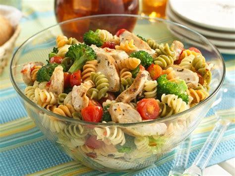 cold pasta salad ideas zesty potluck pasta salad recipe betty crocker dressing and suddenly