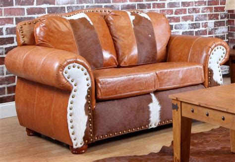 rawhide leather couch chelsea home rawhide sofa set top grain leather and