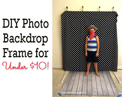 Dollar Store Home Decor Ideas Diy Photo Booth Backdrop Frame For Around 10