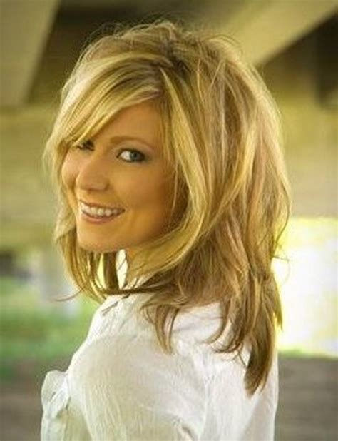 hairstyles layered medium length for over 40 medium hairstyles women 2016