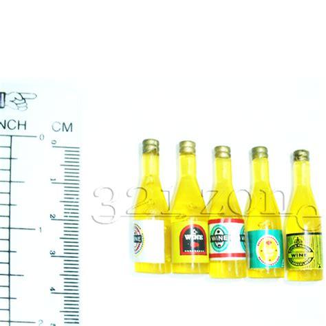 deko flaschen puppenhaus puppenstube flaschen wein miniaturen mini deko