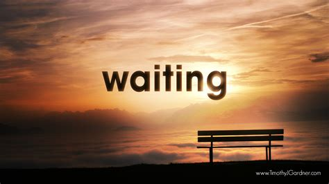 And Waiting by Timothy J Gardner