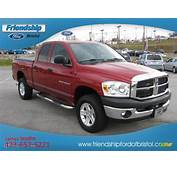 2007 Inferno Red Crystal Pearl Dodge Ram 1500 TRX4 Off