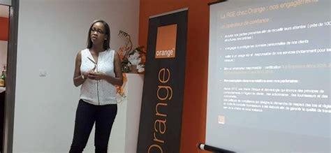 orange si鑒e social lancement du 7e prix orange de l entrepreneur social en