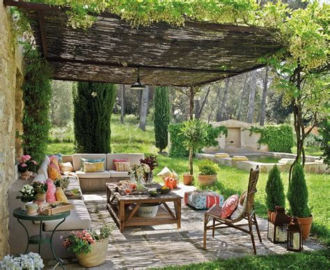 backyard decor photo an outdoor living room with interior appeal
