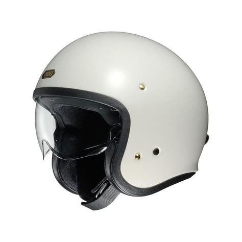 Helmet Shoei Local Retro Helmet Shoei J O Plain Burnoutmotor